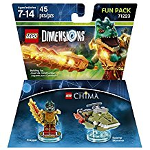 FIG: LEGO DIMENSIONS - LEGENDS OF CHIMA - CRAGGER FUN PACK (NEW)