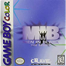 GBC: MIB: MEN IN BLACK: THE SERIES (GAME)