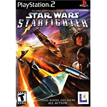 PS2: STAR WARS STARFIGHTER (COMPLETE)