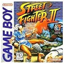GB: STREET FIGHTER II (WORN LABEL) (GAME)