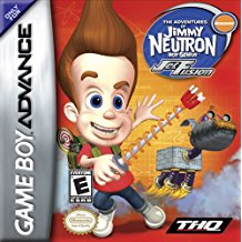 GBA: ADVENTURES OF JIMMY NEUTRON; THE: JET FUSION (NICKELODEON) (GAME)