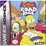 GBA: SIMPSONS ROAD RAGE (GAME)