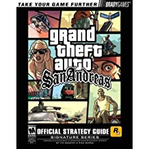 GD: GRAND THEFT AUTO SAN ANDREAS (BRADYGAMES) (GTA) (USED)