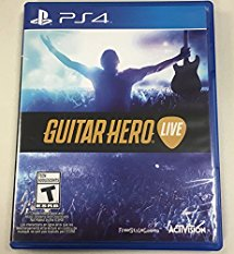 PS4: GUITAR HERO LIVE (SOFTWARE ONLY) (NM) (COMPLETE)