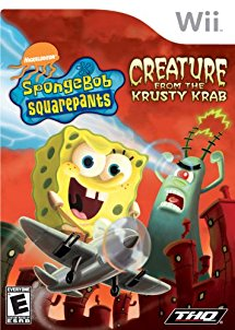 WII: SPONGEBOB SQUAREPANTS CREATURE FROM THE KRUSTY KRAB (NICKELODEON) (BOX)