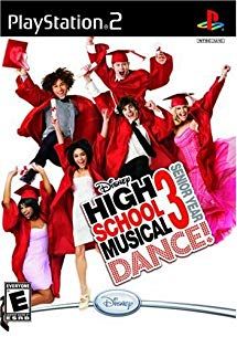 PS2: HIGH SCHOOL MUSICAL 3 DANCE PAD (COMPLETE)