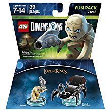 FIG: LEGO DIMENSIONS - LORD OF THE RINGS - GOLLUM FUN PACK (NEW)