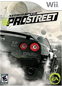 WII: NEED FOR SPEED PROSTREET (COMPLETE)