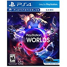 PS4: PLAYSTATION VR WORLDS (NM) (COMPLETE)