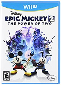 WIIU: EPIC MICKEY 2: POWER OF TWO (COMPLETE)