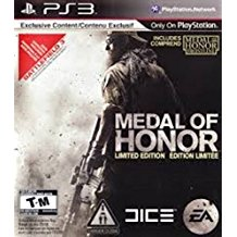PS3: MEDAL OF HONOR LIMITED EDITION (COMPLETE)