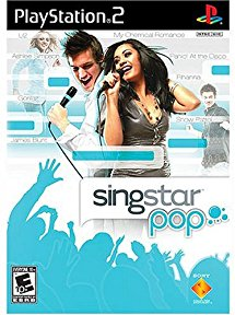 PS2: SINGSTAR POP (COMPLETE)
