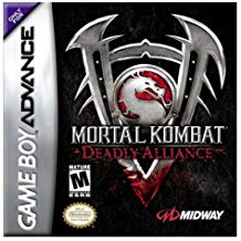 GBA: MORTAL KOMBAT: DEADLY ALLIANCE (GAME)