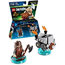 FIG: LEGO DIMENSIONS - LORD OF THE RINGS - GIMLI FUN PACK (NEW)