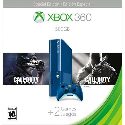 360: CONSOLE - SLIM ELITE - BLUE WALMART EDITION - INCL: 500GB HDD AND BLUE CTRL (USED)