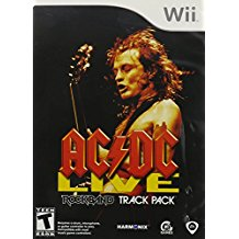 WII: AC/DC LIVE ROCK BAND TRACK PACK (NEW)