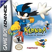 GBA: KLONOA: EMPIRE OF DREAMS (GAME)