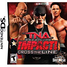 NDS: TNA IMPACT: CROSS THE LINE (GAME)