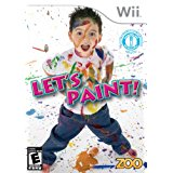 WII: LETS PAINT (NEW)