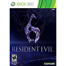 360: RESIDENT EVIL 6 WITH GUIDE (DISC 1 ONLY) (NM) (COMPLETE) (USED)