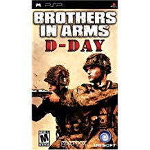 PSP: BROTHERS IN ARMS D DAY (GAME)