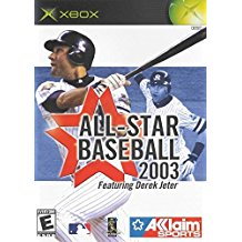 XBX: ALL STAR BASEBALL 2003 FEATURING DEREK JETER (COMPLETE)