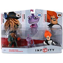 FIG: DISNEY INFINITY 1.0 VILLAINS 3 PACK (USED)
