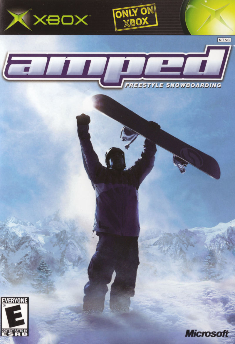 XBX: AMPED FREESTYLE SNOWBOARDING (COMPLETE)