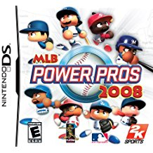 NDS: MLB POWER PROS 2008 (GAME)