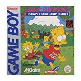 GB: BART SIMPSONS ESCAPE FROM CAMP DEADLY (GAME)