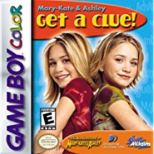 GBC: MARY-KATE AND ASHLEY: GET A CLUE! (GAME)