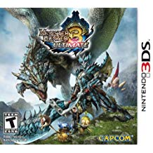 3DS: MONSTER HUNTER 3 ULTIMATE (COMPLETE)