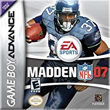 GBA: MADDEN 2007 (GAME)