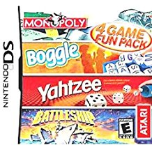 NDS: 4 GAME FUN PACK (GAME)