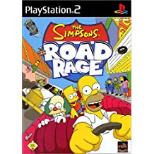 PS2: SIMPSONS: ROAD RAGE (COMPLETE)