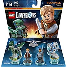 FIG: LEGO DIMENSIONS - JURASSIC WORLD TEAM PACK (NEW)