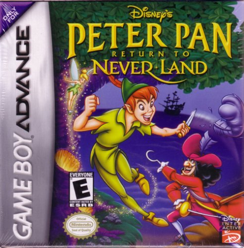 GBA: PETER PAN RETURN TO NEVERLAND (DISNEY) (GAME)