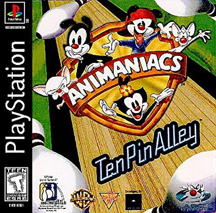 PS1: ANIMANIACS TEN PIN ALLEY (COMPLETE)