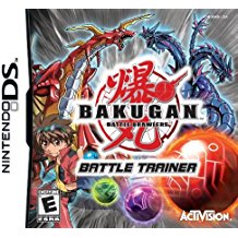 NDS: BAKUGAN BATTLE TRAINER (GAME)