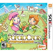 3DS: RETURN TO POPOLOCROIS: A STORY OF SEASONS FAIRYTALE (GAME)