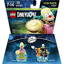 FIG: LEGO DIMENSIONS - SIMPSONS - KRUSTY FUN PACK (NEW)