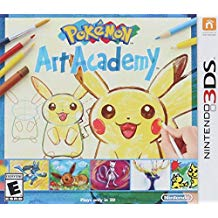 3DS: POKEMON ART ACADEMY (COMPLETE)