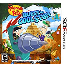 3DS: PHINEAS AND FERB: QUEST FOR COOL STUFF (DISNEY) (COMPLETE)
