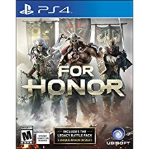 PS4: FOR HONOR (NM) (COMPLETE)