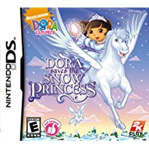 NDS: DORA SAVES THE SNOW PRINCESS (NICKELODEON) (COMPLETE)