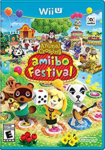 WIIU: ANIMAL CROSSING AMIIBO FESTIVAL (SOFTWARE ONLY) (COMPLETE)