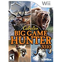 WII: CABELAS BIG GAME HUNTER 2010 (COMPLETE)
