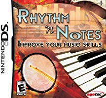 NDS: RHYTHM N NOTES: IMPROVE YOUR MUSIC SKILLS (GAME)