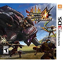 3DS: MONSTER HUNTER 4 ULTIMATE (NM) (GAME)