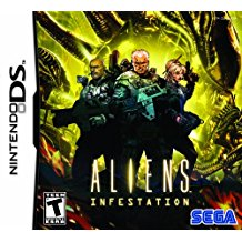 NDS: ALIENS INFESTATION (GAME)
